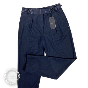 RAG & BONE High Waist Wool Blend Trouser Pants